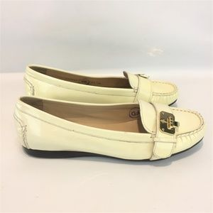 COLE HAAN Creamy Flats Patent Leather 9.5M